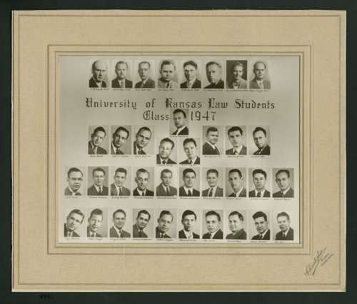 University of Kansas law students class of 1947 - Page