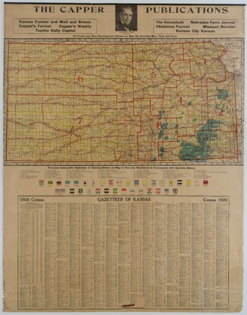 Excelsior Series Map of United States and Alaska - Page