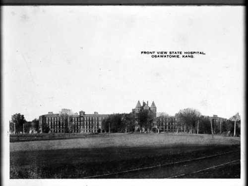 Front views of the Osawatomie State Hospital, Osawatomie, Kansas - Page