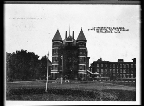 Administration building at the Osawatomie State Hospital, Osawatomie, Kansas - Page