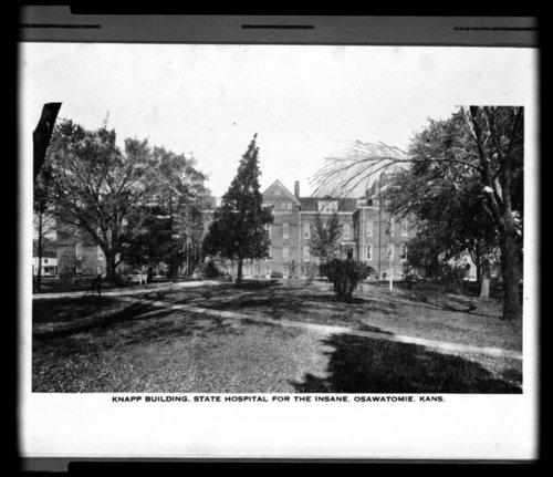 Knapp building at the Osawatomie State Hospital, Osawatomie, Kansas - Page