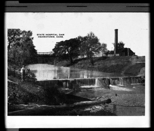 Osawatomie State Hospital dam, Osawatomie, Kansas - Page