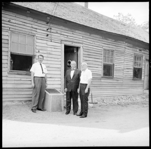 Ceremony at the Pony Express Station, Washington County, Kansas - Page