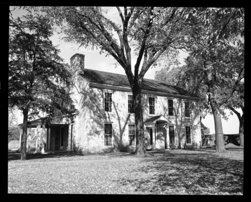 View of the Kaw Mission in Council Grove, Kansas - Page