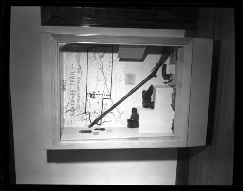Views of displays at Kaw Mission, Council Grove, Kansas - Page