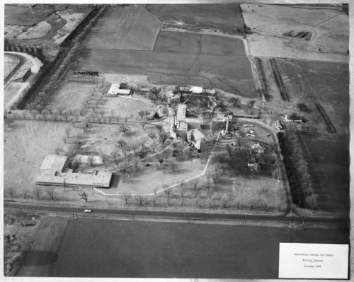 Aerial view of the Industrial School for Girls, Beloit, Kansas - Page