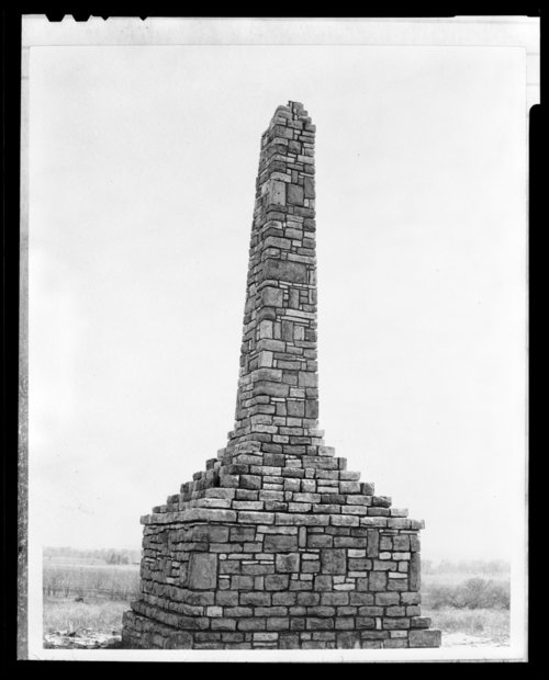 Structures at the Kaw Indian Agency, Council Grove, Kansas - Page