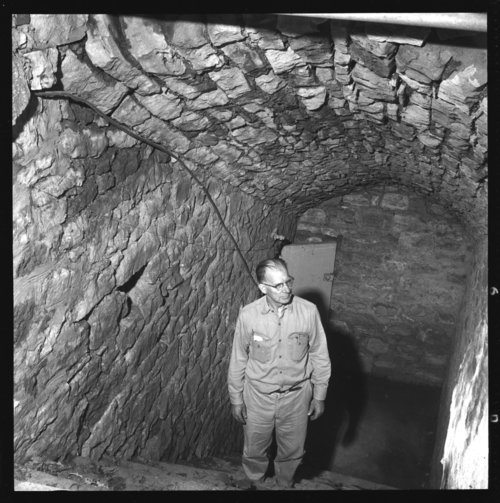 Old brewery storage cellar, Council Grove, Kansas - Page
