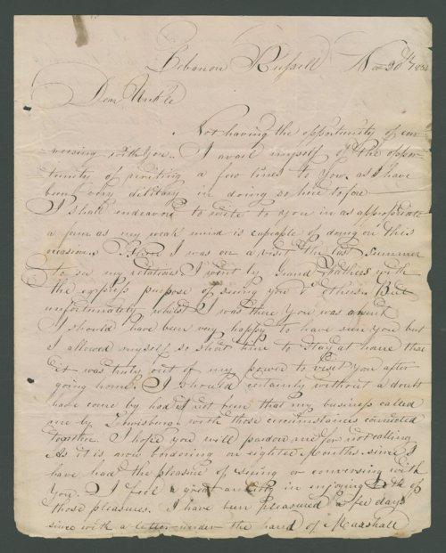 Thomas C. Alderson to Lewis Allen Alderson - Page