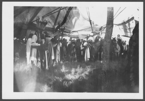 Views of Southern Cheyenne ceremonies - Page