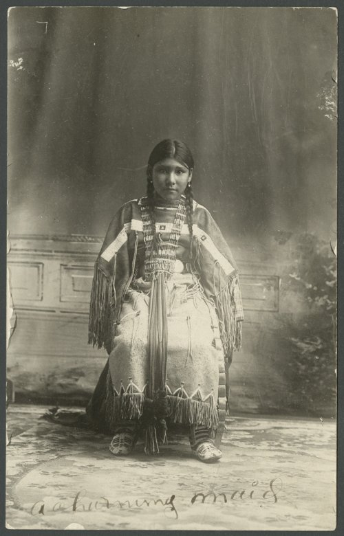 Portrait of a young Cheyenne girl - Page