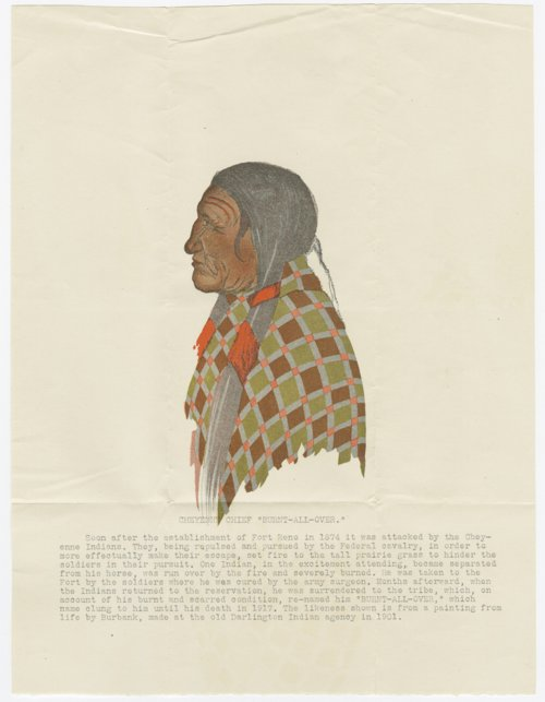 Chief Burnt-All-Over, Cheyenne Indian - Page