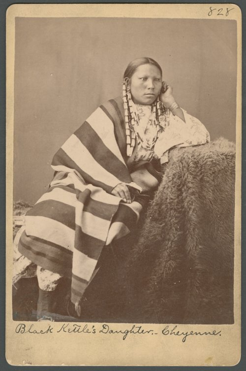 Black Kettle's daughter, Cheyenne, in Indian Territory - Page