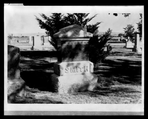 Grave markers for the Last Indian Raid in Kansas - Page