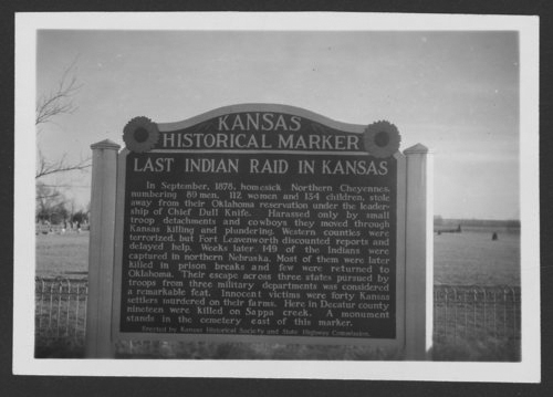 Kansas Historical Marker, Oberlin, Kansas - Page