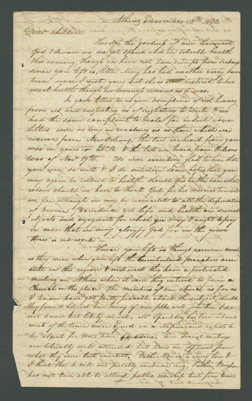 Joseph B. Miles to Lewis Allen Alderson - Page