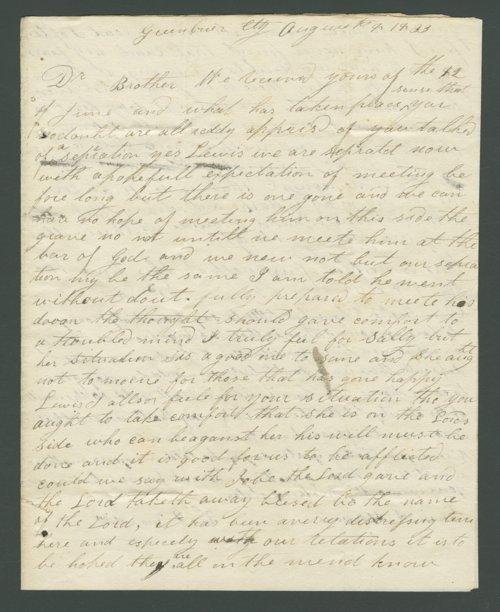William Feamster to Lewis Allen Alderson - Page