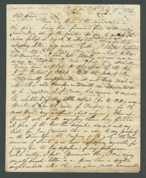 I. S. C. Griffin to Lewis Allen Alderson - Page