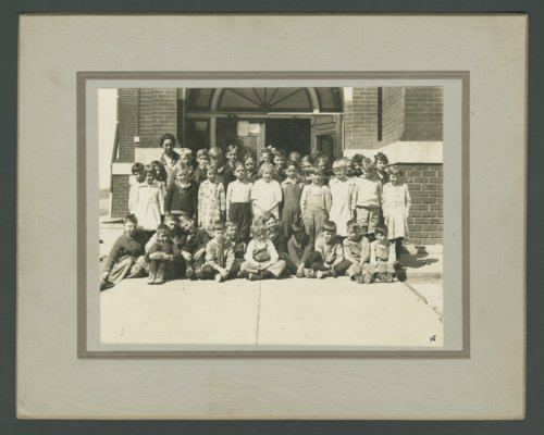 Third and fourth grade students at Chase, Kansas - Page