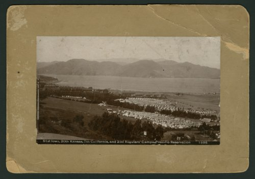 Camps at Presidio Reservation in California - Page