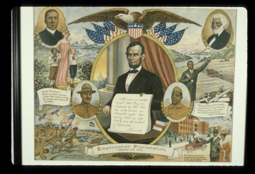 Broadside commemorating Emancipation Proclamation - Page