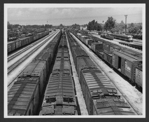 Atchison, Topeka & Santa Fe Railway Company's freight yards, San Bernardino, California - Page