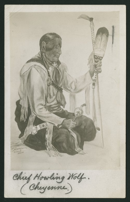 Chief Howling Wolf, Cheyenne Indian - Page