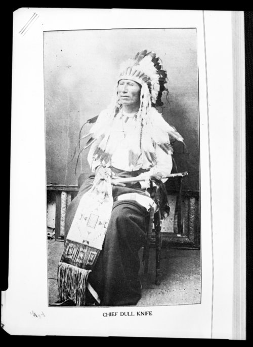 Chief Dull Knife, Cheyenne Indian - Page