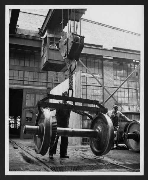 Atchison, Topeka & Santa Fe Railway Company shops, San Bernardino, California - Page