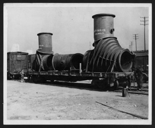 Atchison, Topeka, & Santa Fe Railway Company's flatcar - Page