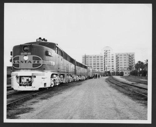 Atchison, Topeka & Santa Fe Railway Company's Texas Chief - Page