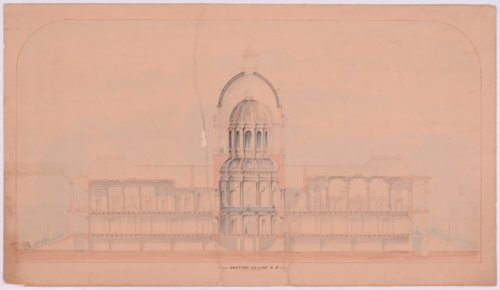 Original plans for Kansas Capitol Building, Topeka, Kansas - Page