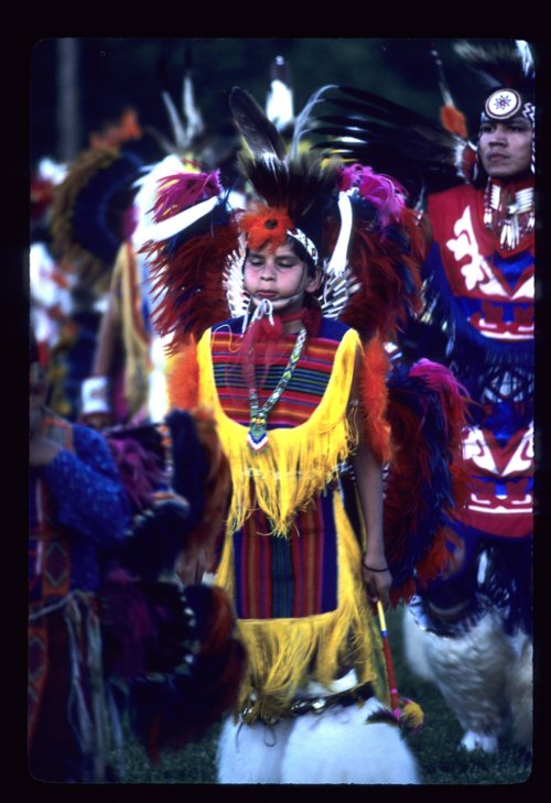 Native American dancer - Page