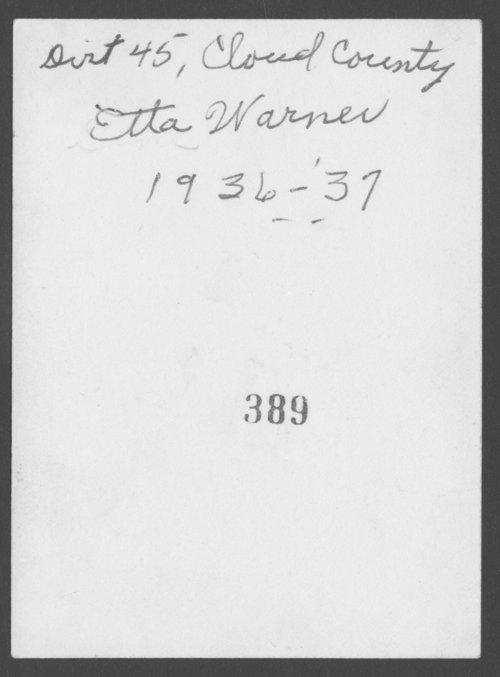 Etta Warner - Page