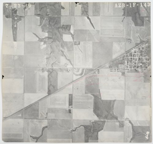 Aerial view of Thomas County & Decatur County, Kansas - Page