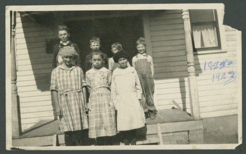 Limestone School, district 66 in Stanton Township, Ottawa County, Kansas - Page