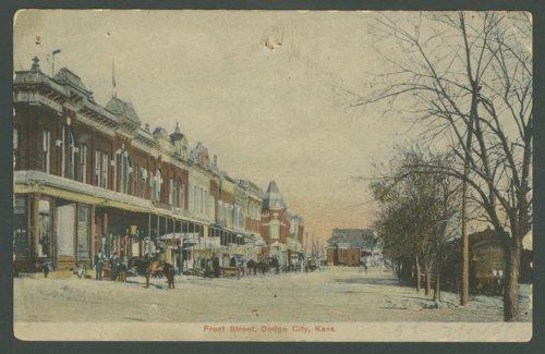 Street scene, Dodge City,Kansas - Page