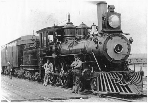 Engine No. 1 of the Grand Rapids & Indiana Railroad - Page