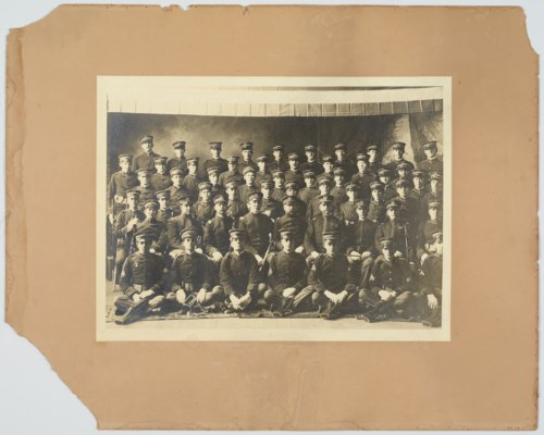 Kansas National Guard soldiers, Company F at Larned, Kansas - Page