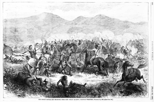 Indian battle and massacre near Fort Philip Kearney, Dacotah Territory - Page