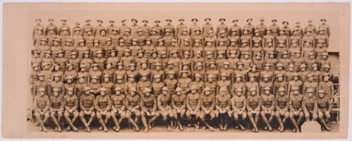 Members of Company A, 11th Engineers at Camp Mills, New York - Page