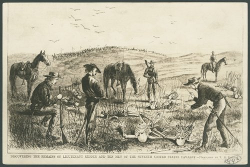 Discovering the remains of Lieutenant Kidder and ten men of the Seventh United States Cavalry - Page