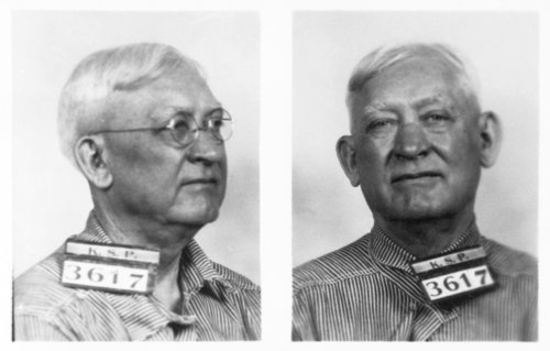 George W. Earp, prisoner 3617, Kansas State Penitentiary - Page
