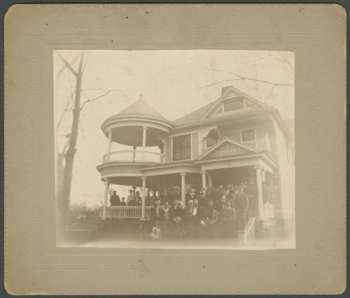 Dr. Rea's home in Wellington, Kansas - Page