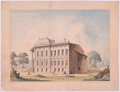 Original drawing for Kansas Capitol Building, Topeka, Kansas - Page