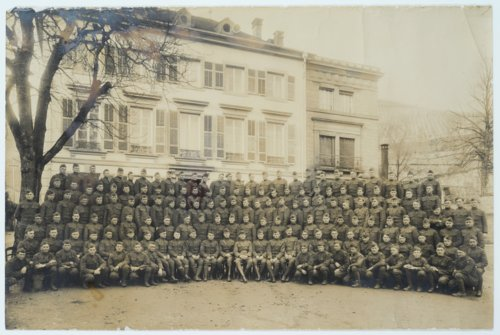 First platoon of Company M, 355 Infantry, 89th Division - Page