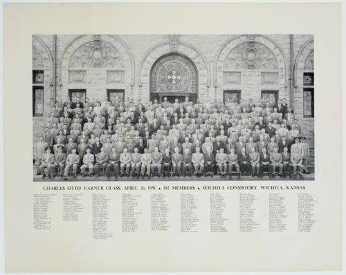 Charles Otto Varner class in Wichita, Kansas - Page