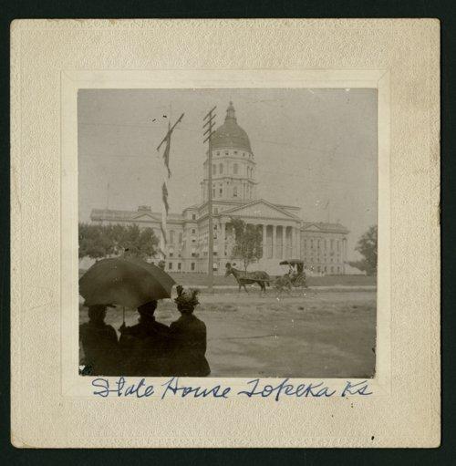 Kansas capitol in Topeka, Kansas - Page
