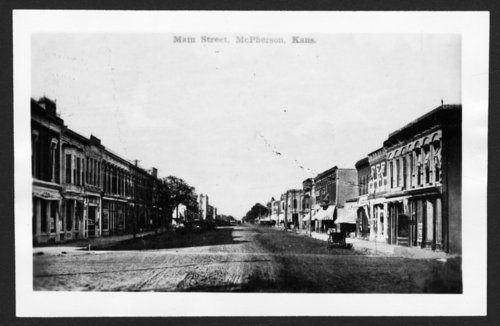 Main Street, McPherson, Kansas - Page