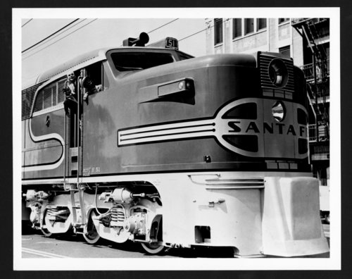 Atchison, Topeka & Santa Fe Railway Company's famous passengers - Page